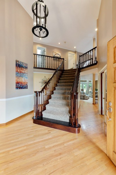 Real Estate Photography - 16620 NE 167th Ct, Woodinville, WA, 98072 - Staircase