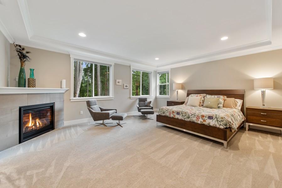 Real Estate Photography - 10698 N. Madison, Bainbridge Island, WA, 98110 - Master Bedroom