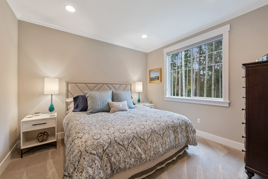 Real Estate Photography - 10698 N. Madison, Bainbridge Island, WA, 98110 - 3rd Bedroom