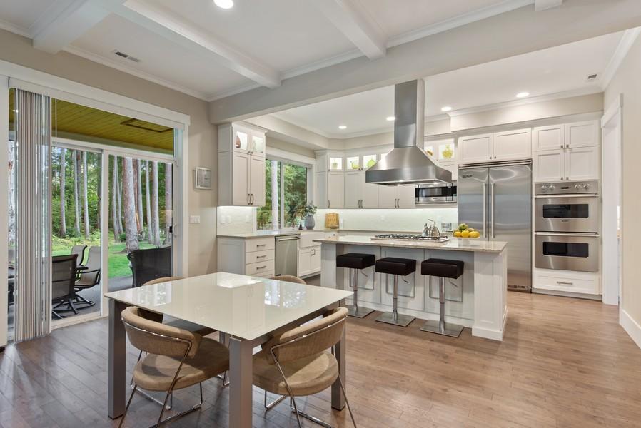 Real Estate Photography - 10698 N. Madison, Bainbridge Island, WA, 98110 - Kitchen / Breakfast Room