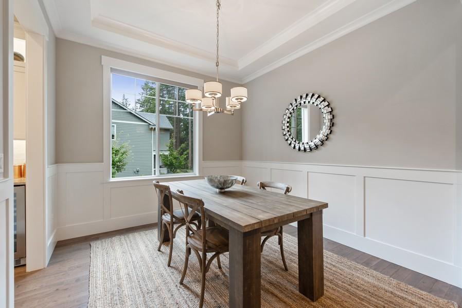 Real Estate Photography - 10698 N. Madison, Bainbridge Island, WA, 98110 - Dining Room