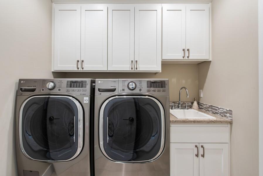 Real Estate Photography - 10698 N. Madison, Bainbridge Island, WA, 98110 - Laundry Room