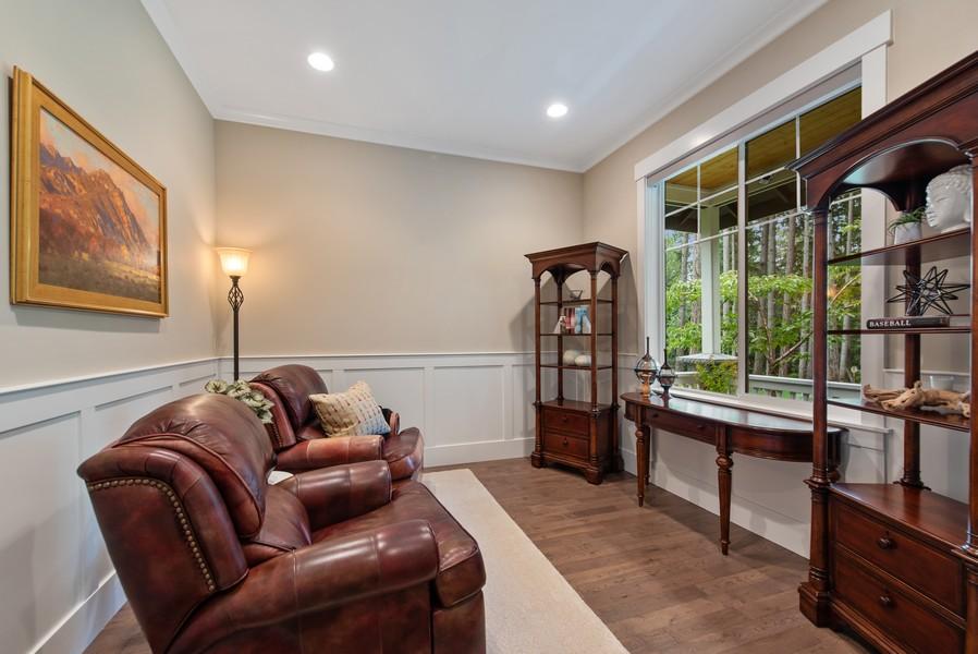 Real Estate Photography - 10698 N. Madison, Bainbridge Island, WA, 98110 - Den