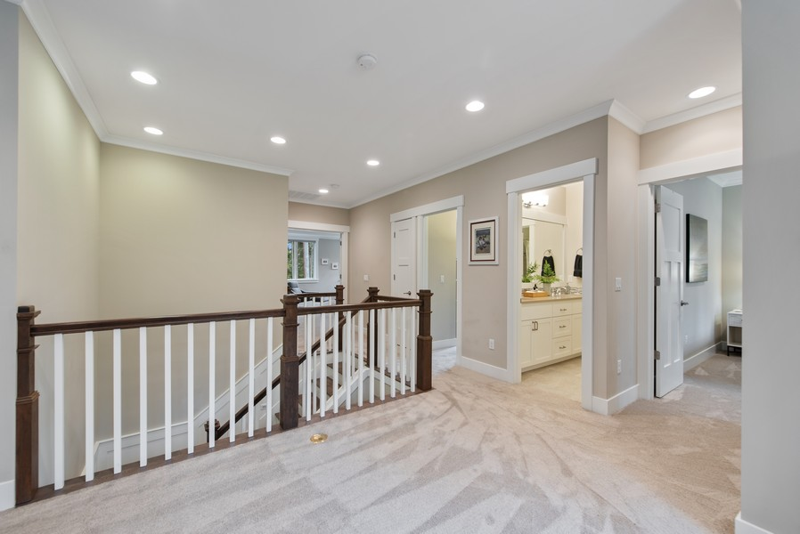 Real Estate Photography - 10698 N. Madison, Bainbridge Island, WA, 98110 - Hallway