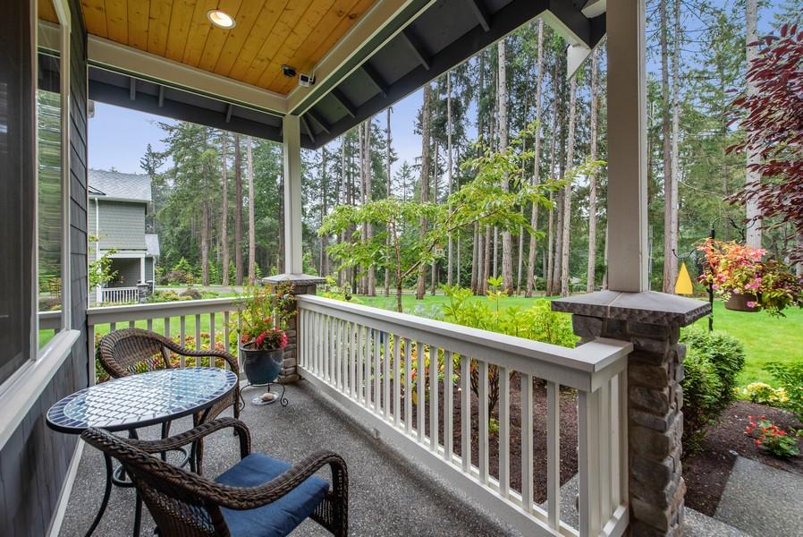 Real Estate Photography - 10698 N. Madison, Bainbridge Island, WA, 98110 - Deck