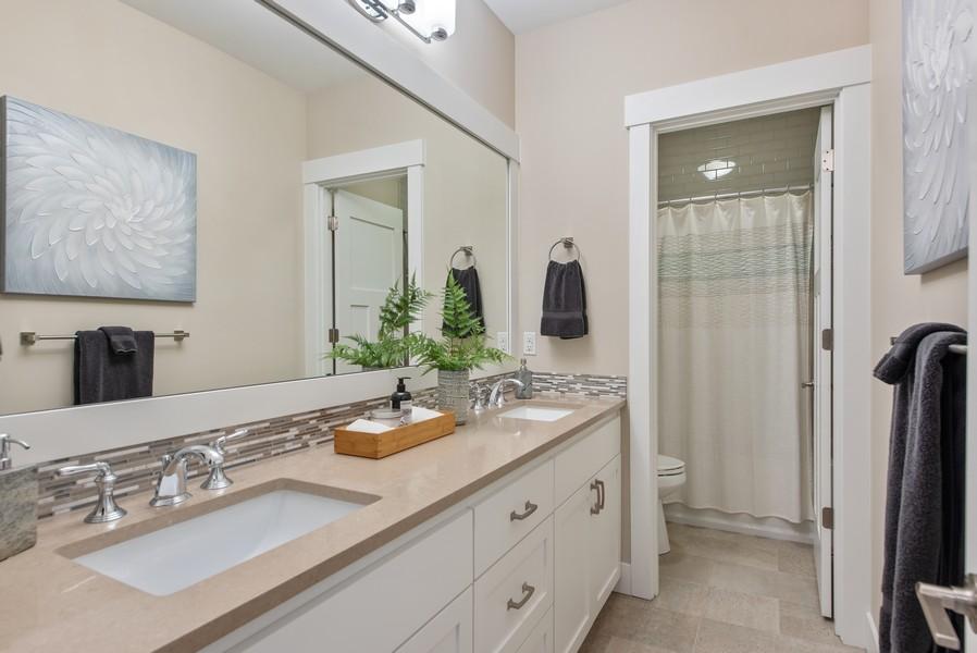 Real Estate Photography - 10698 N. Madison, Bainbridge Island, WA, 98110 - Bathroom