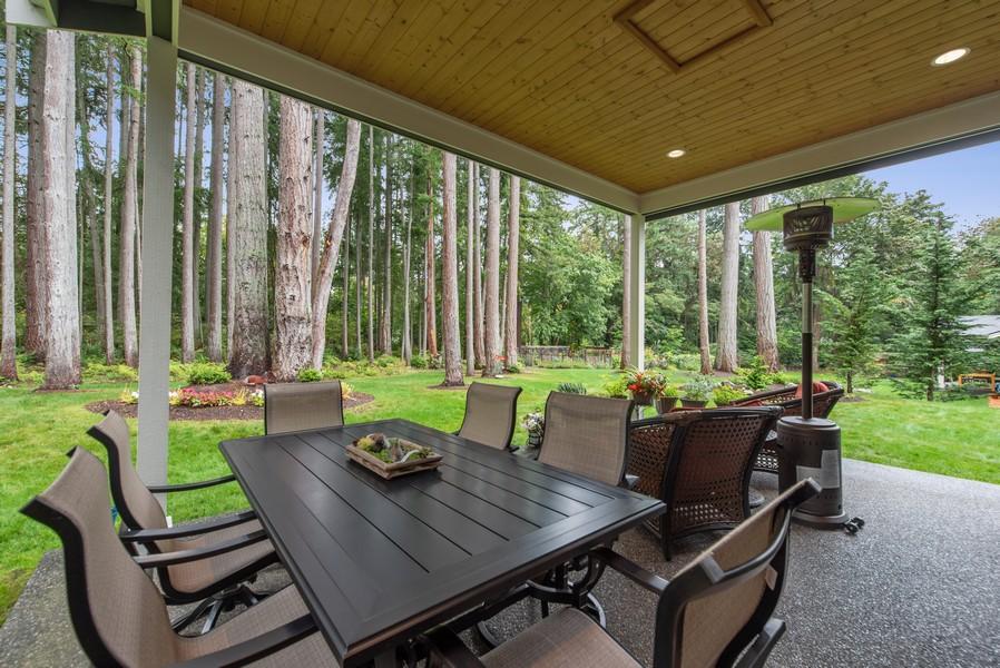 Real Estate Photography - 10698 N. Madison, Bainbridge Island, WA, 98110 - Patio