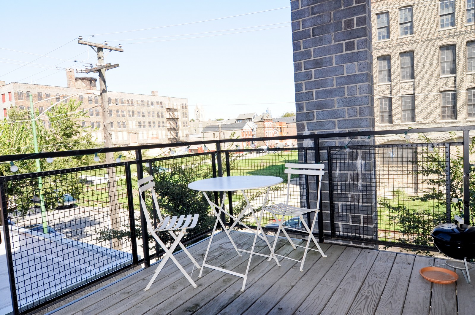 Real Estate Photography - 950 W. Cullerton, C, Chicago, IL, 60608 - Deck