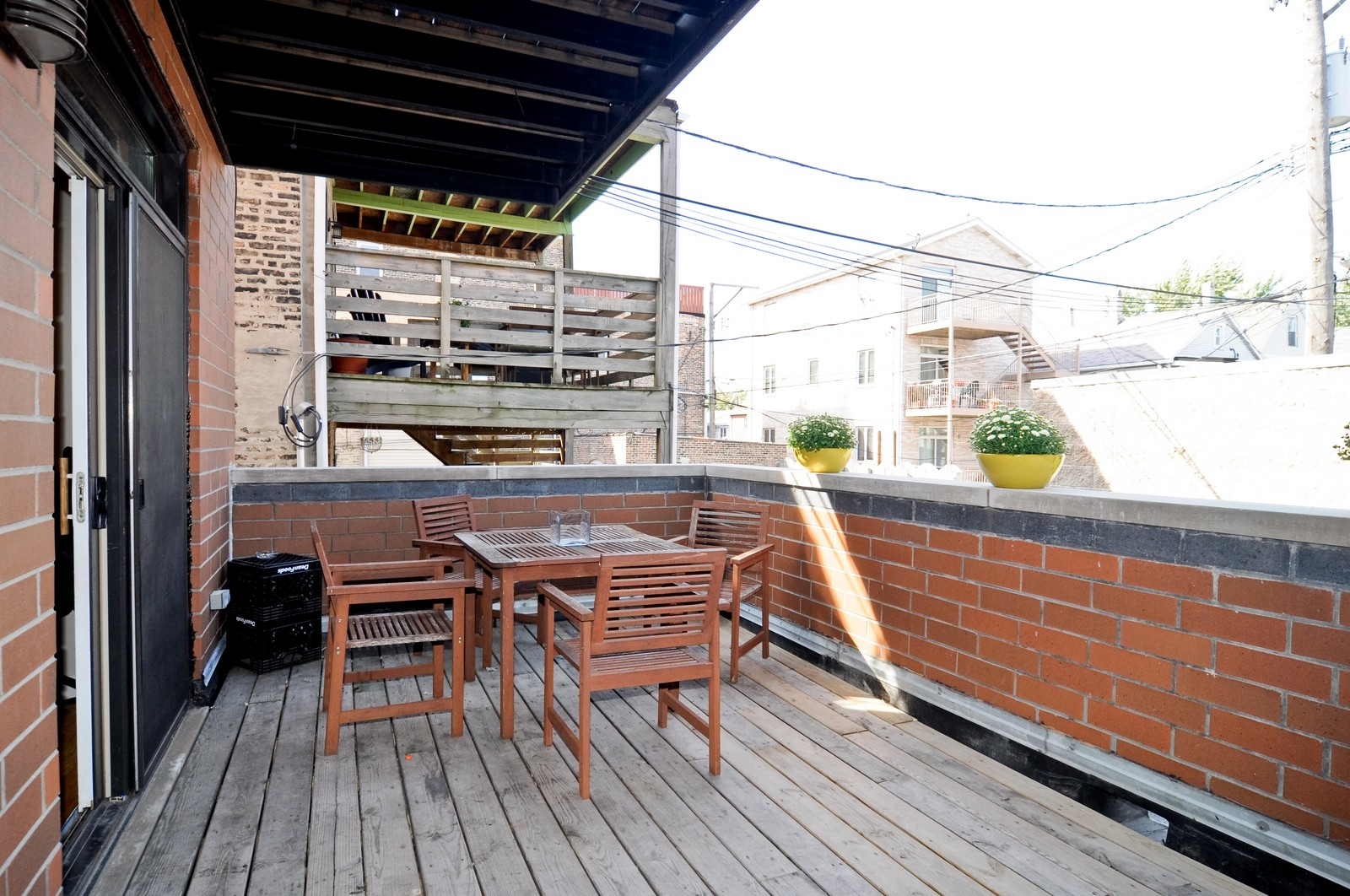 Real Estate Photography - 950 Cullerton, A, Chicago, IL, 60608 - Deck