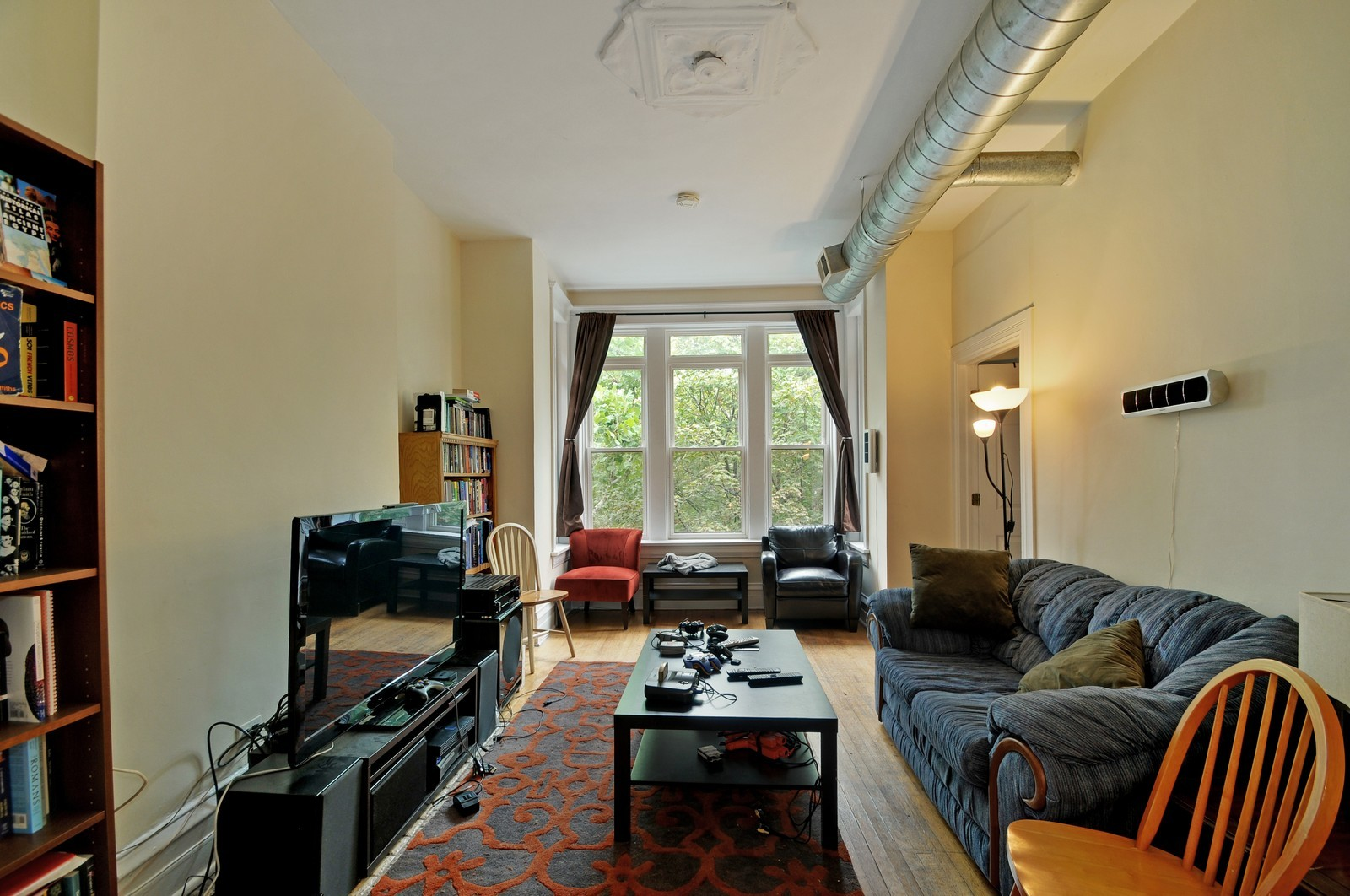 Real Estate Photography - 900 W. Newport, Chicago, IL, 60657 - Living Room