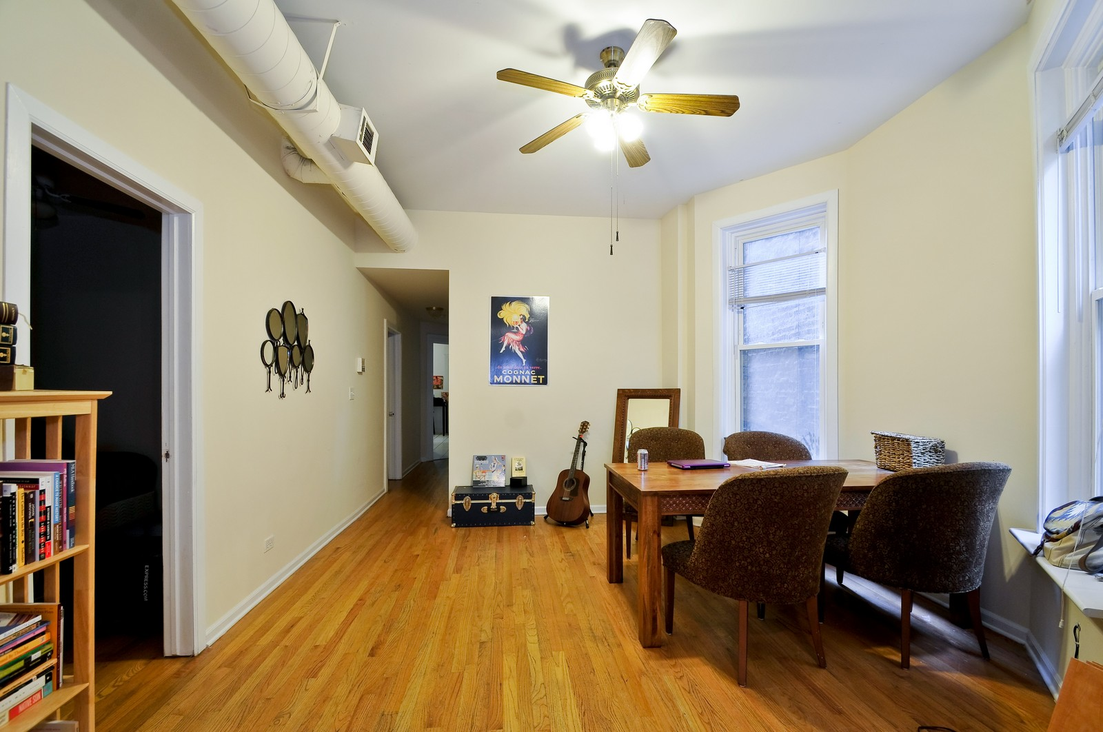 Real Estate Photography - 900 W. Newport, Chicago, IL, 60657 - Dining Area