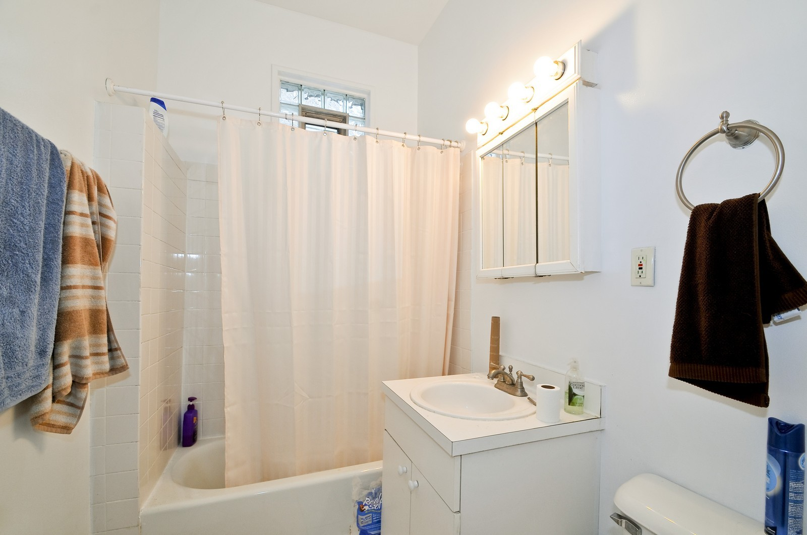 Real Estate Photography - 900 W. Newport, Chicago, IL, 60657 - Bathroom