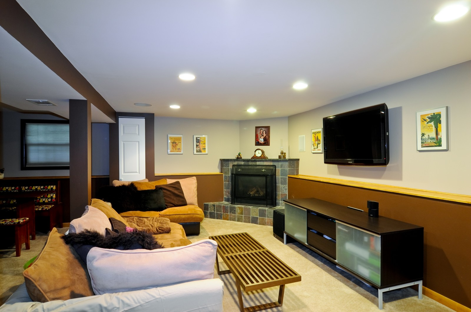 Real Estate Photography - 3835 N Kimball, Chicago, IL, 60618 - Lower Level