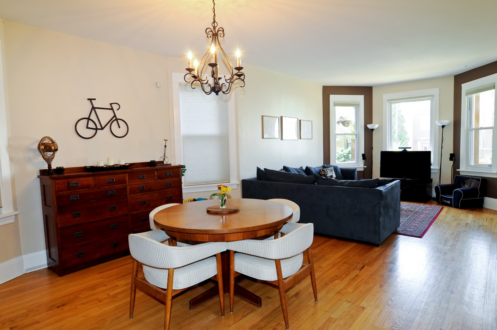 Real Estate Photography - 3835 N Kimball, Chicago, IL, 60618 - Dining Room