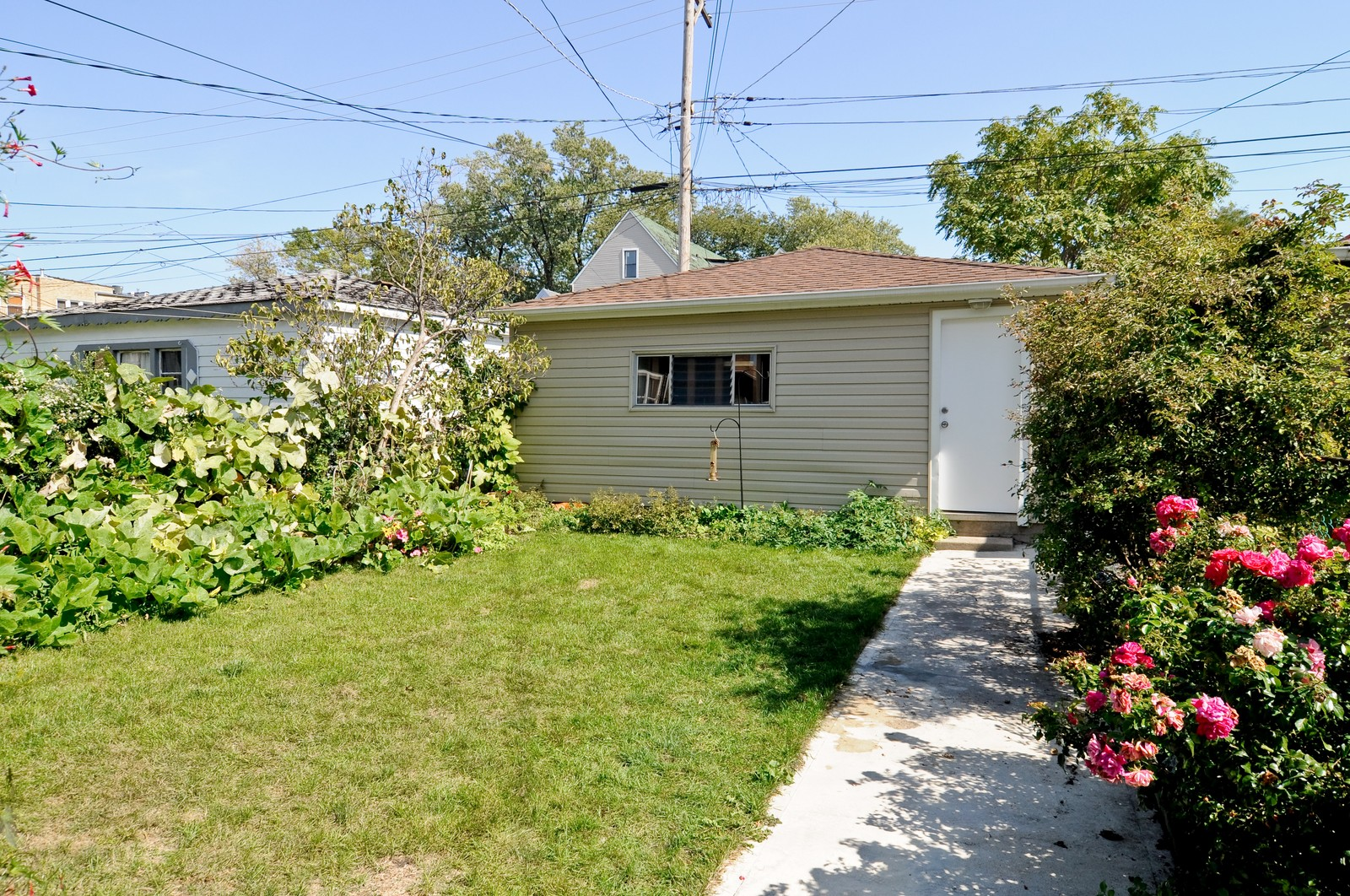 Real Estate Photography - 3835 N Kimball, Chicago, IL, 60618 - Back Yard