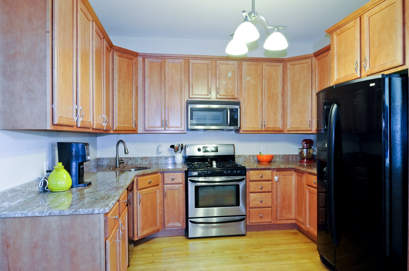 Real Estate Photography - 3835 N Kimball, Chicago, IL, 60618 - Kitchen