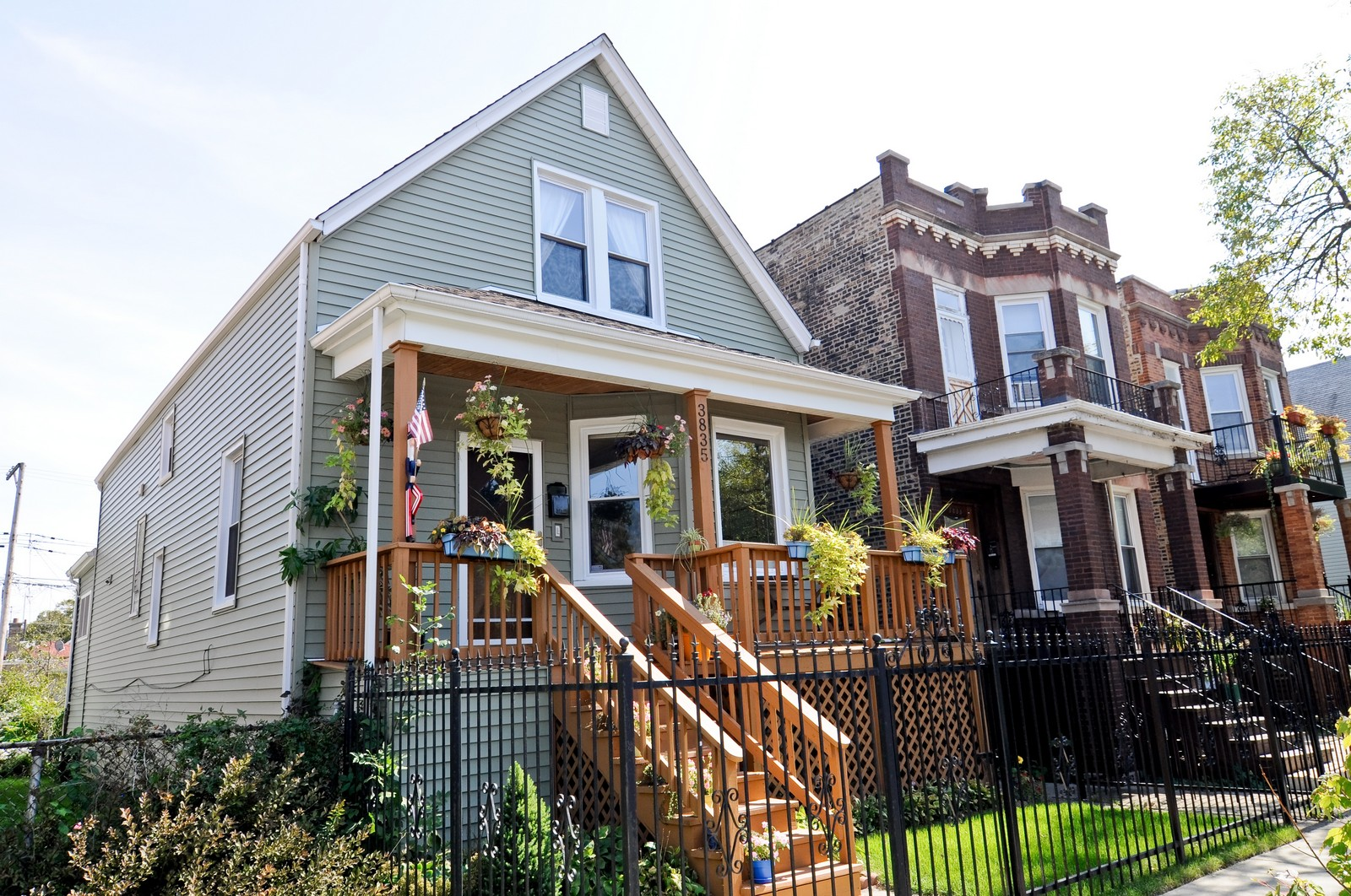 Real Estate Photography - 3835 N Kimball, Chicago, IL, 60618 - Front View