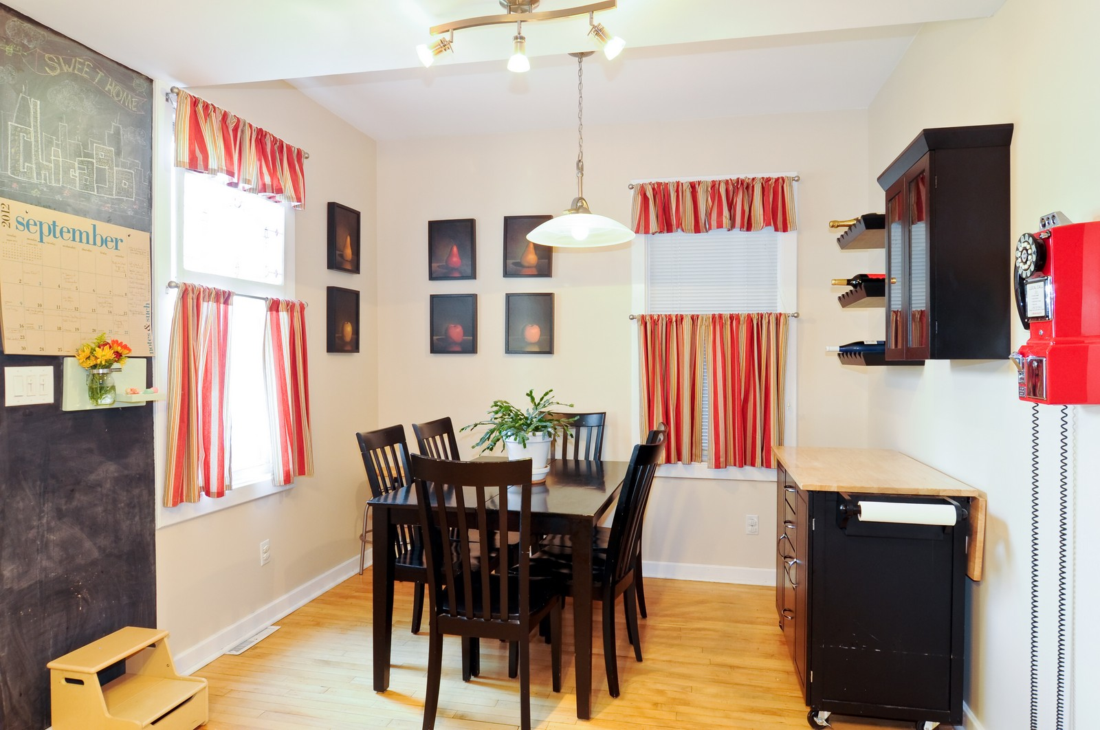 Real Estate Photography - 3835 N Kimball, Chicago, IL, 60618 - Breakfast Nook