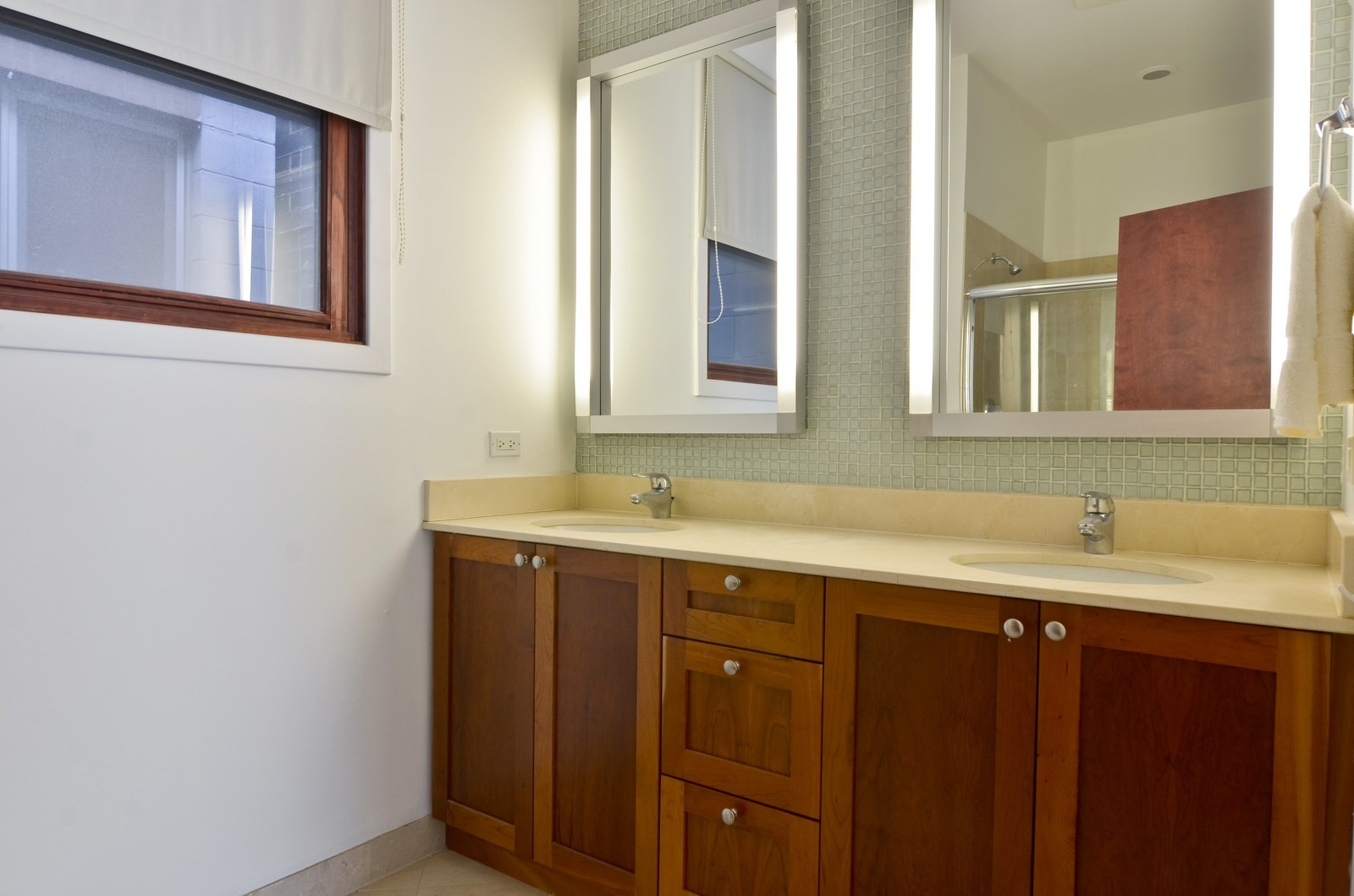 Real Estate Photography - 1872 N Damen Avenue, 3S, Chicago, IL, 60610 - Master Bathroom