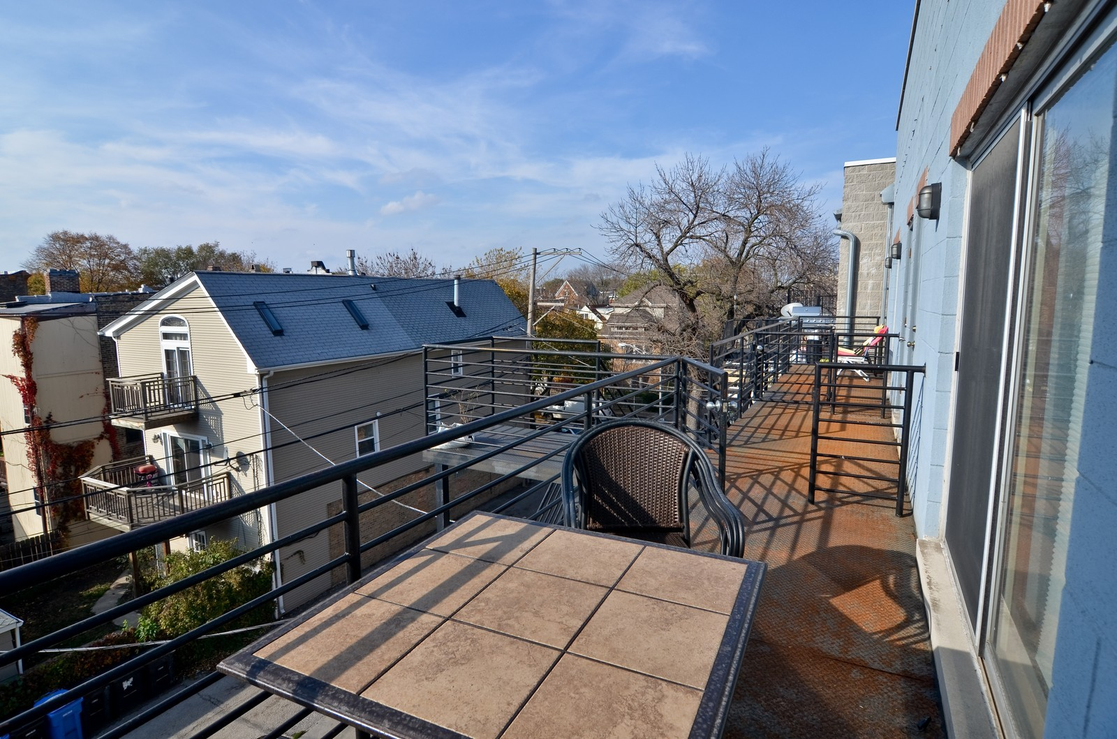 Real Estate Photography - 1872 N Damen Avenue, 3S, Chicago, IL, 60610 - Deck
