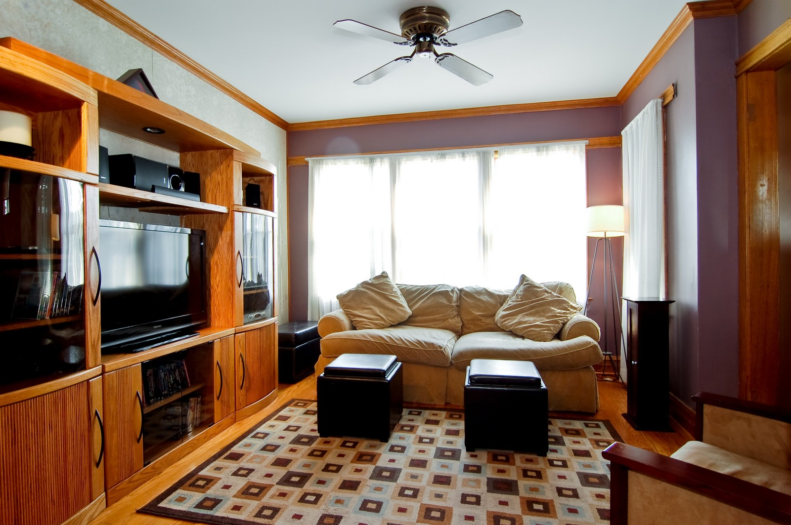 Real Estate Photography - 2934 N 73rd Ct, Elmwood Park, IL, 60707 - Living Room