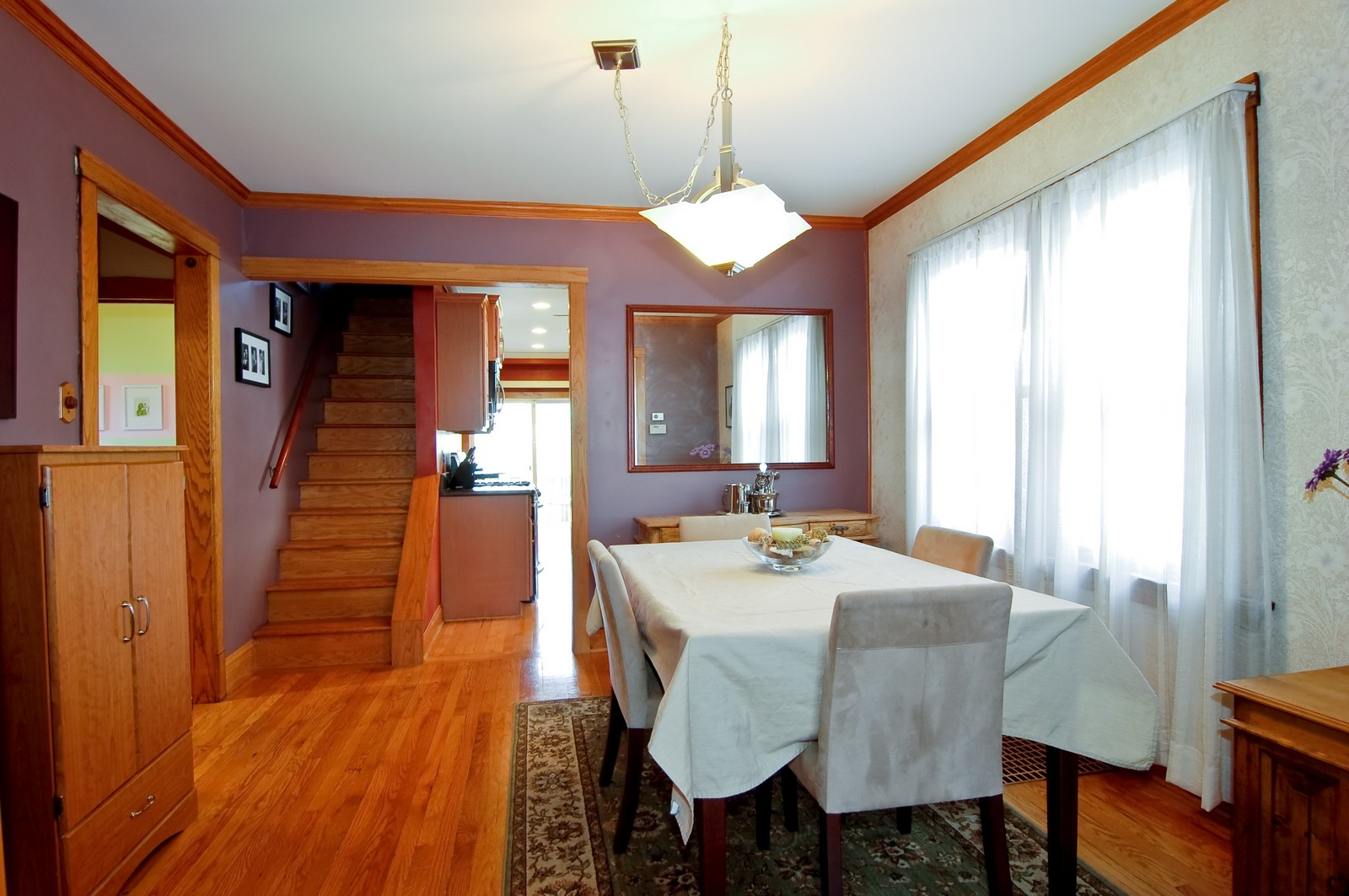 Real Estate Photography - 2934 N 73rd Ct, Elmwood Park, IL, 60707 - Dining Room