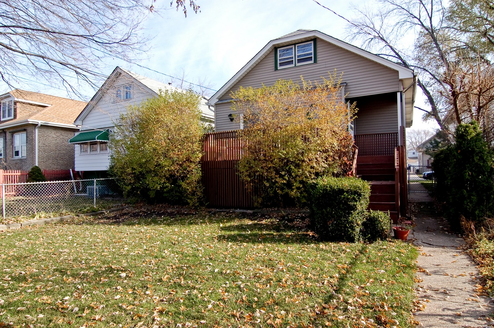 Real Estate Photography - 2934 N 73rd Ct, Elmwood Park, IL, 60707 - Rear View