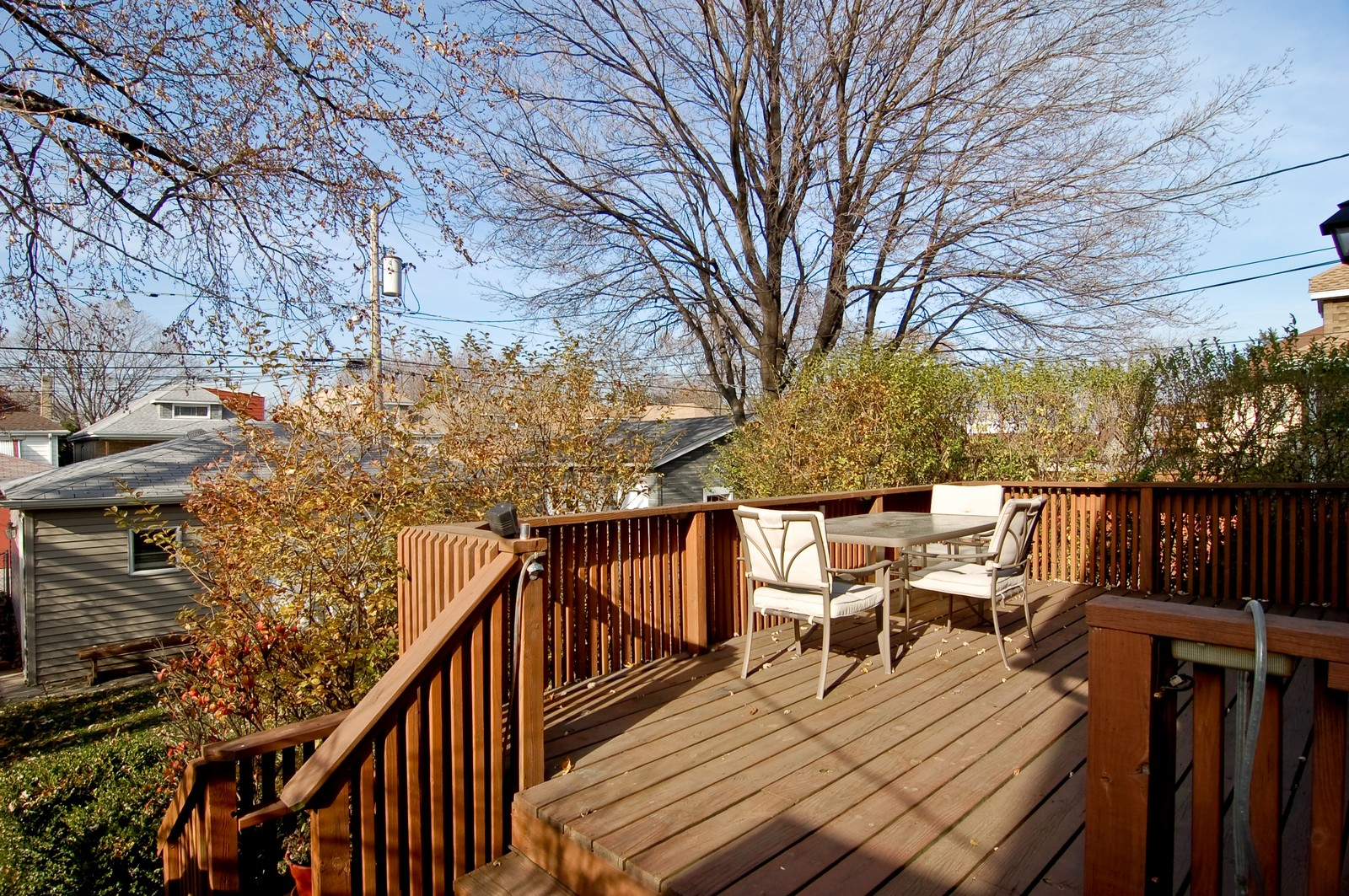 Real Estate Photography - 2934 N 73rd Ct, Elmwood Park, IL, 60707 - Deck
