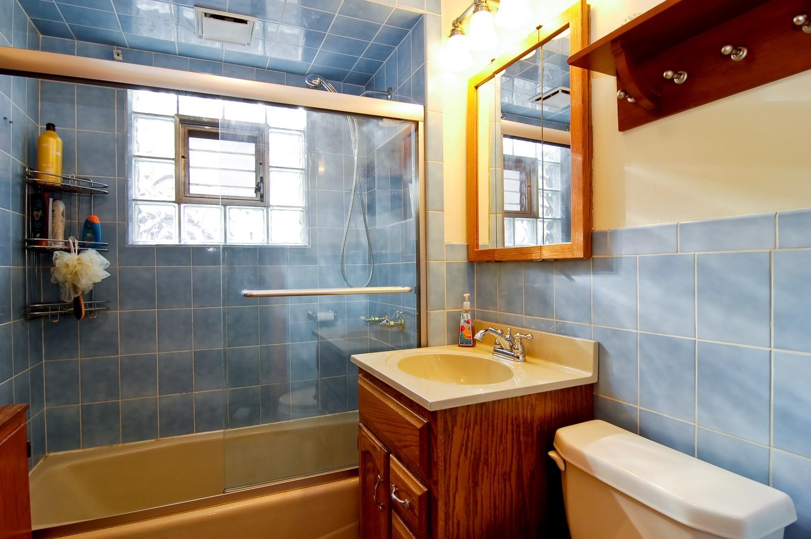 Real Estate Photography - 2934 N 73rd Ct, Elmwood Park, IL, 60707 - Bathroom