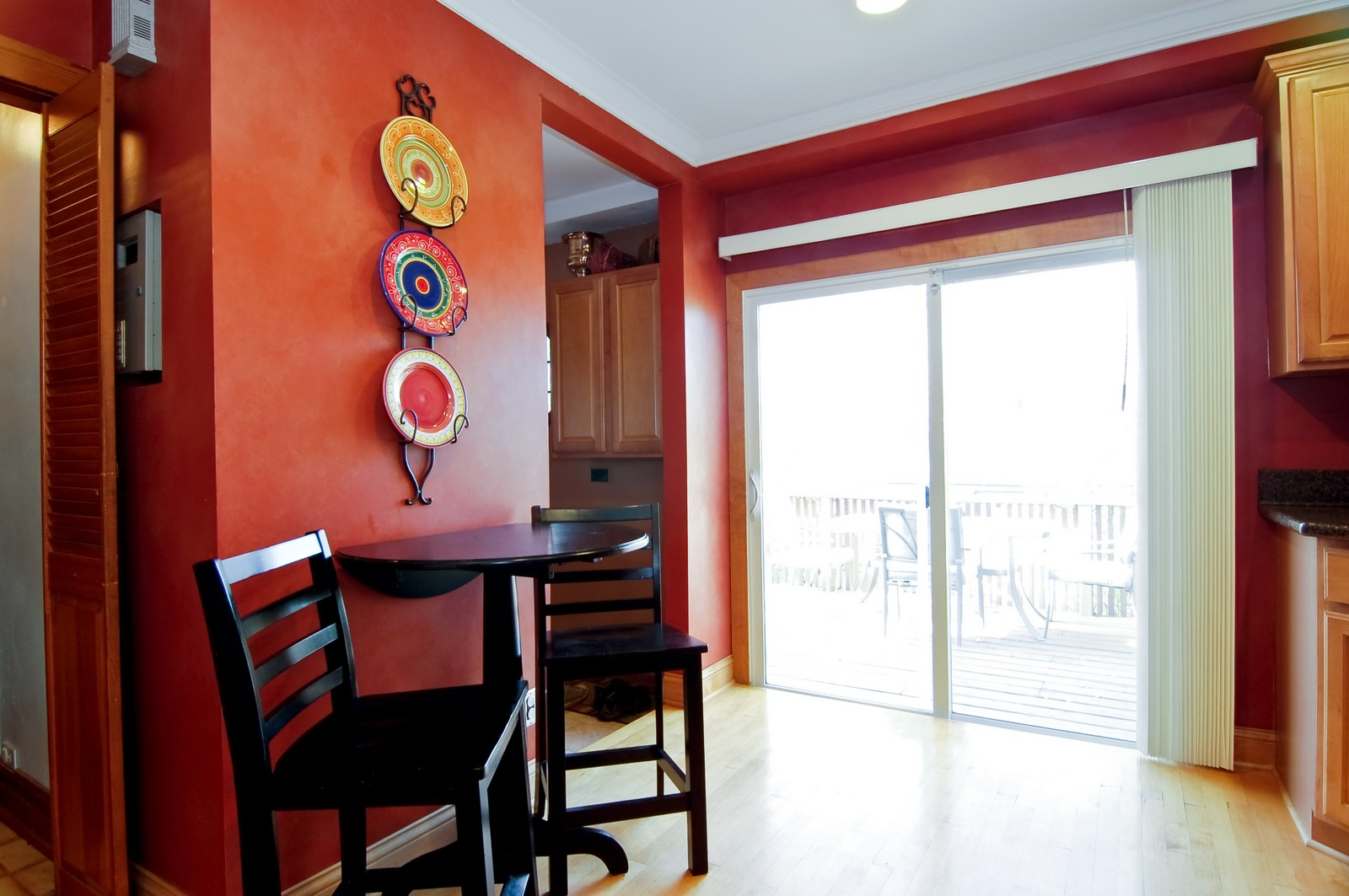 Real Estate Photography - 2934 N 73rd Ct, Elmwood Park, IL, 60707 - Breakfast Nook