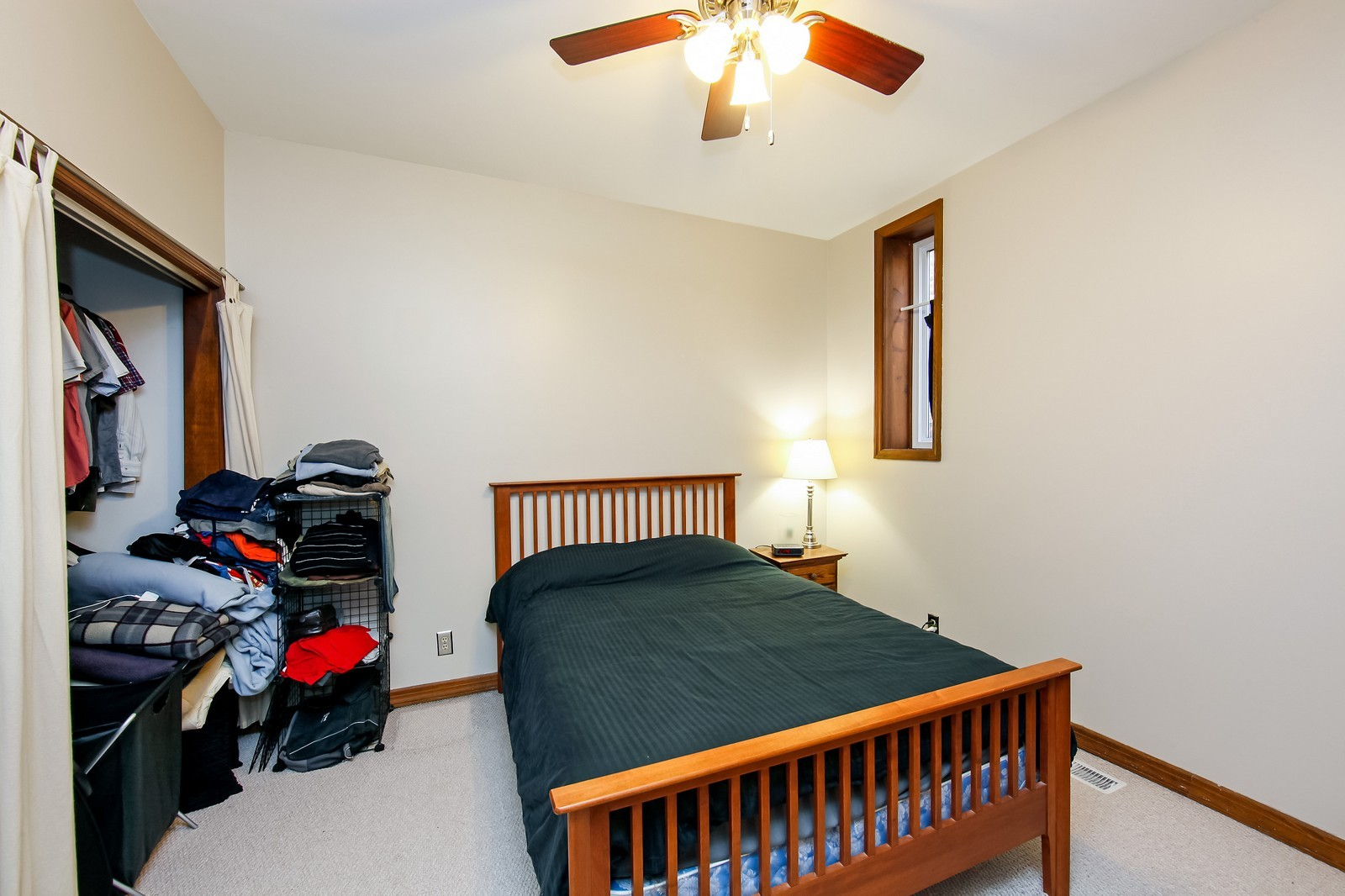 Real Estate Photography - 1748 N Honore, 1,2, 3, Chicago, IL, 60622 - Master Bedroom
