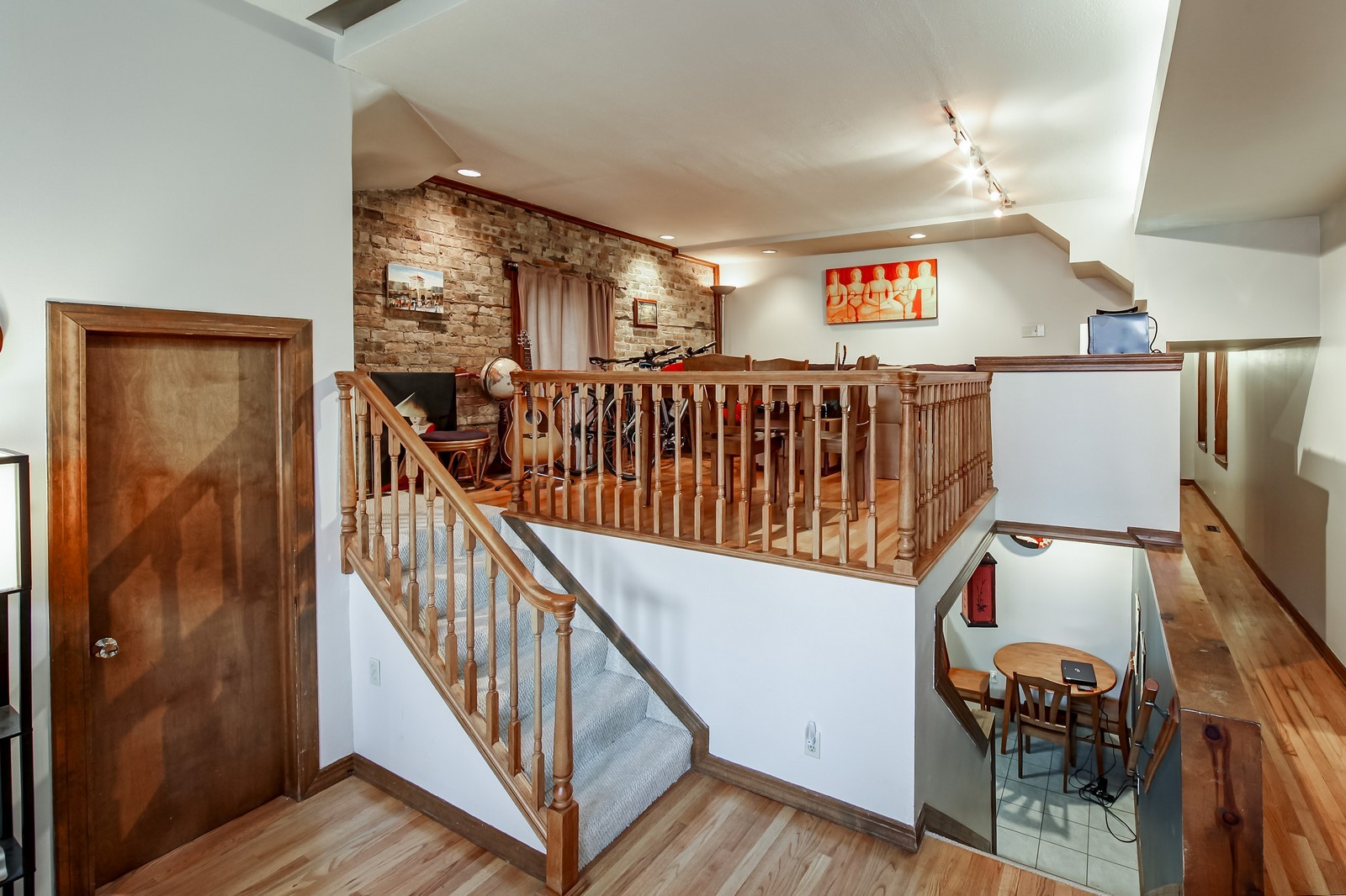 Real Estate Photography - 1748 N Honore, 1,2, 3, Chicago, IL, 60622 - Loft