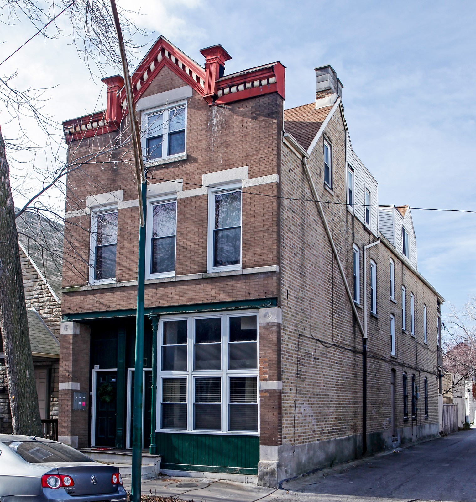 Real Estate Photography - 1748 N Honore, 1,2, 3, Chicago, IL, 60622 - Front View