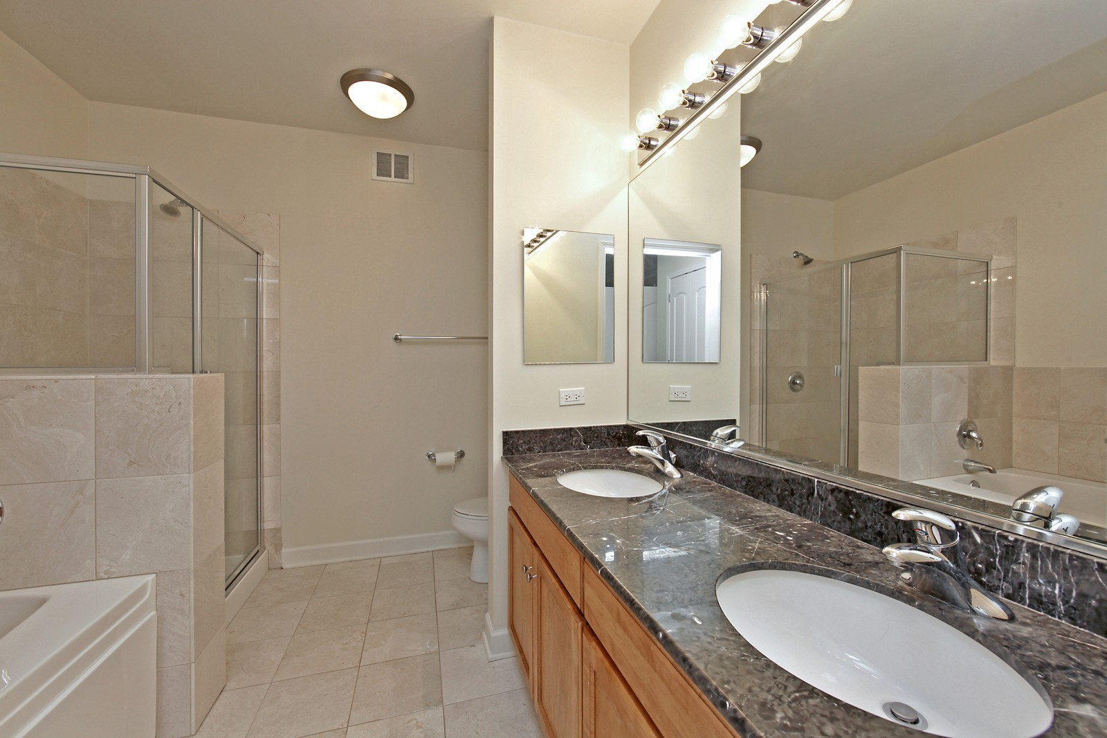 Real Estate Photography - 450 E Waterside, 708, Chicago, IL, 60601 - Master Bathroom