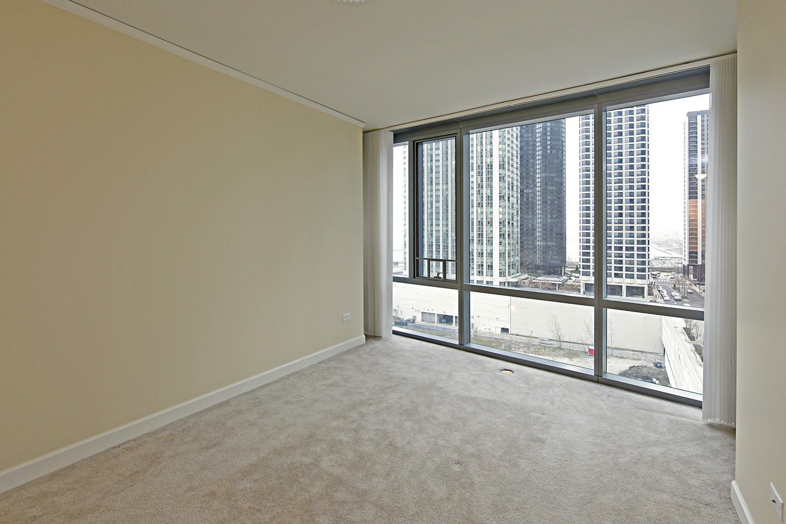 Real Estate Photography - 450 E Waterside, 708, Chicago, IL, 60601 - Master Bedroom
