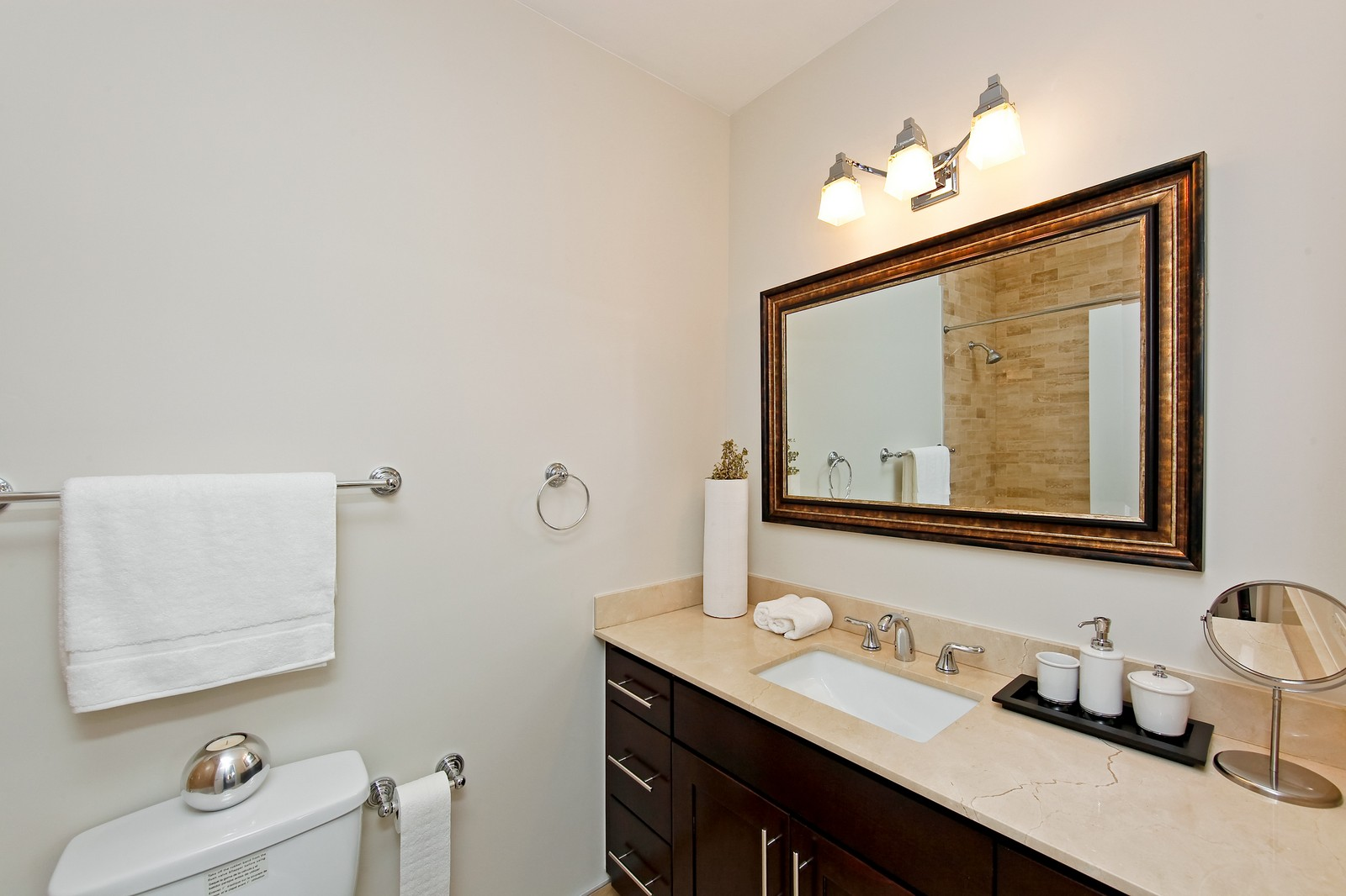 Real Estate Photography - 2422 W Bross, Chicago, IL, 60608 - Master Bathroom