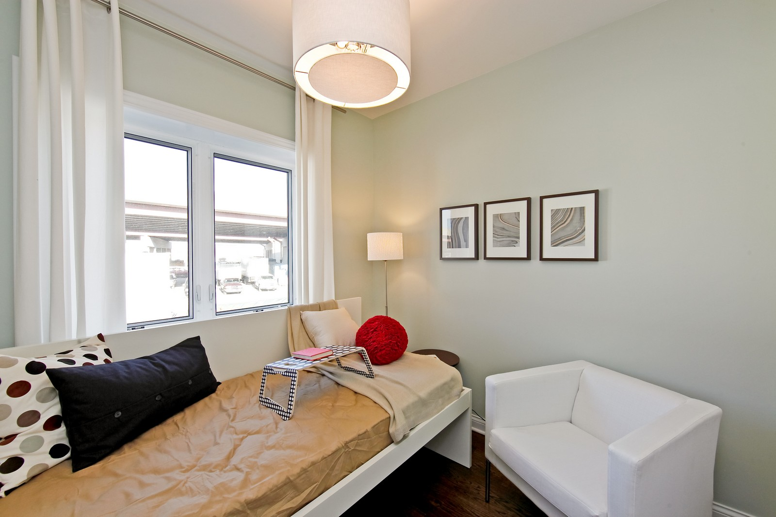 Real Estate Photography - 2422 W Bross, Chicago, IL, 60608 - 3rd Bedroom