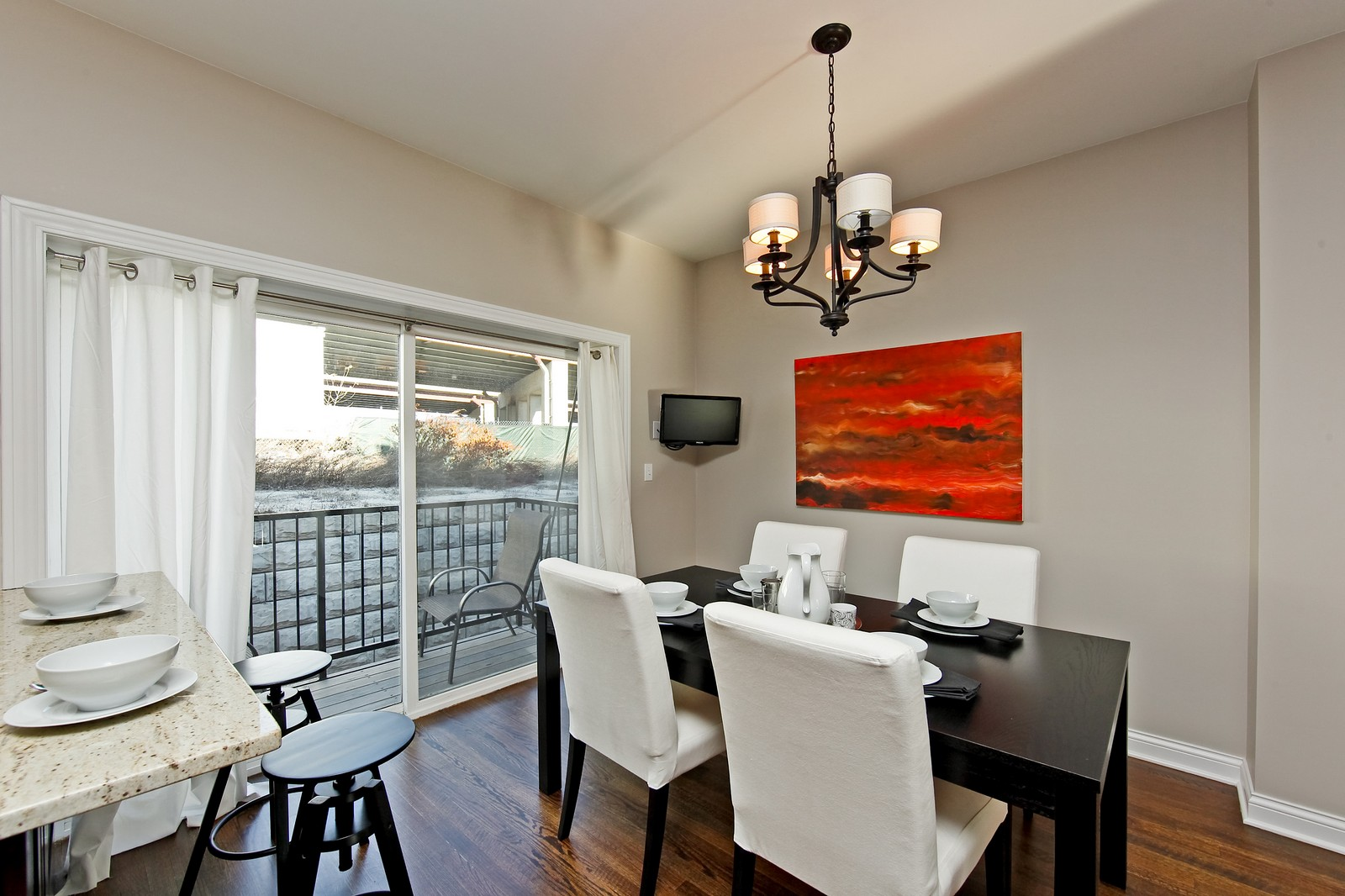 Real Estate Photography - 2422 W Bross, Chicago, IL, 60608 - Dining Room