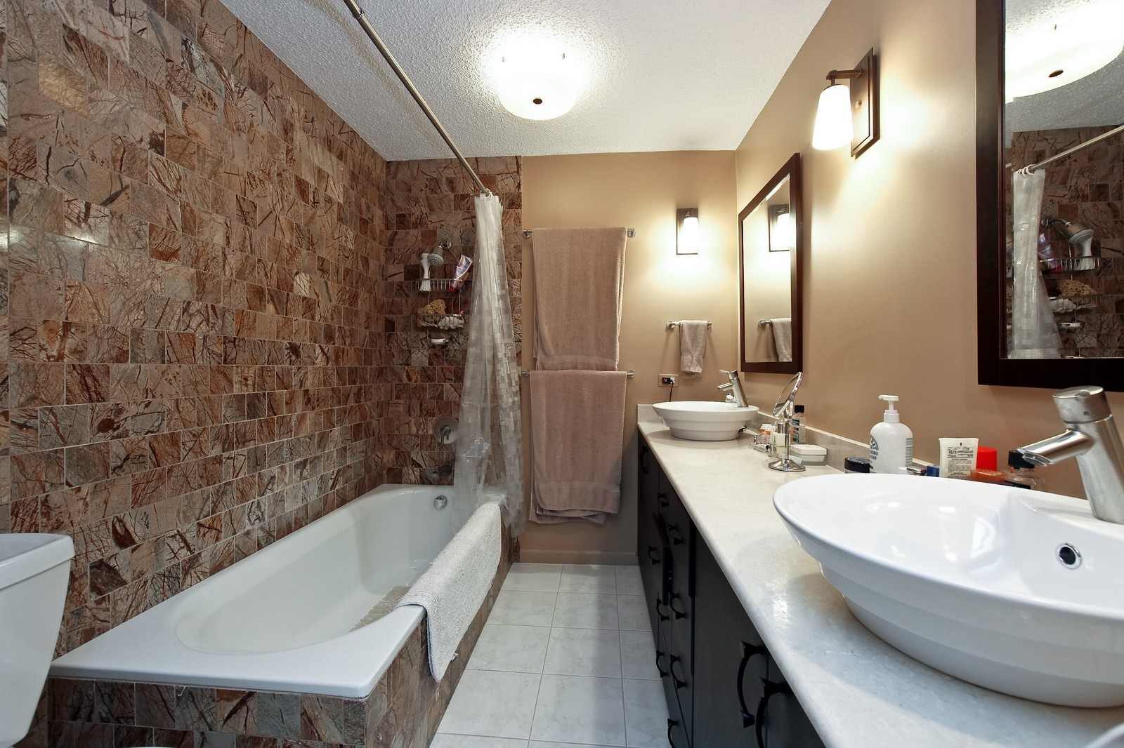 Real Estate Photography - 1920 Clark, 3A, Chicago, IL, 60614 - Master Bathroom