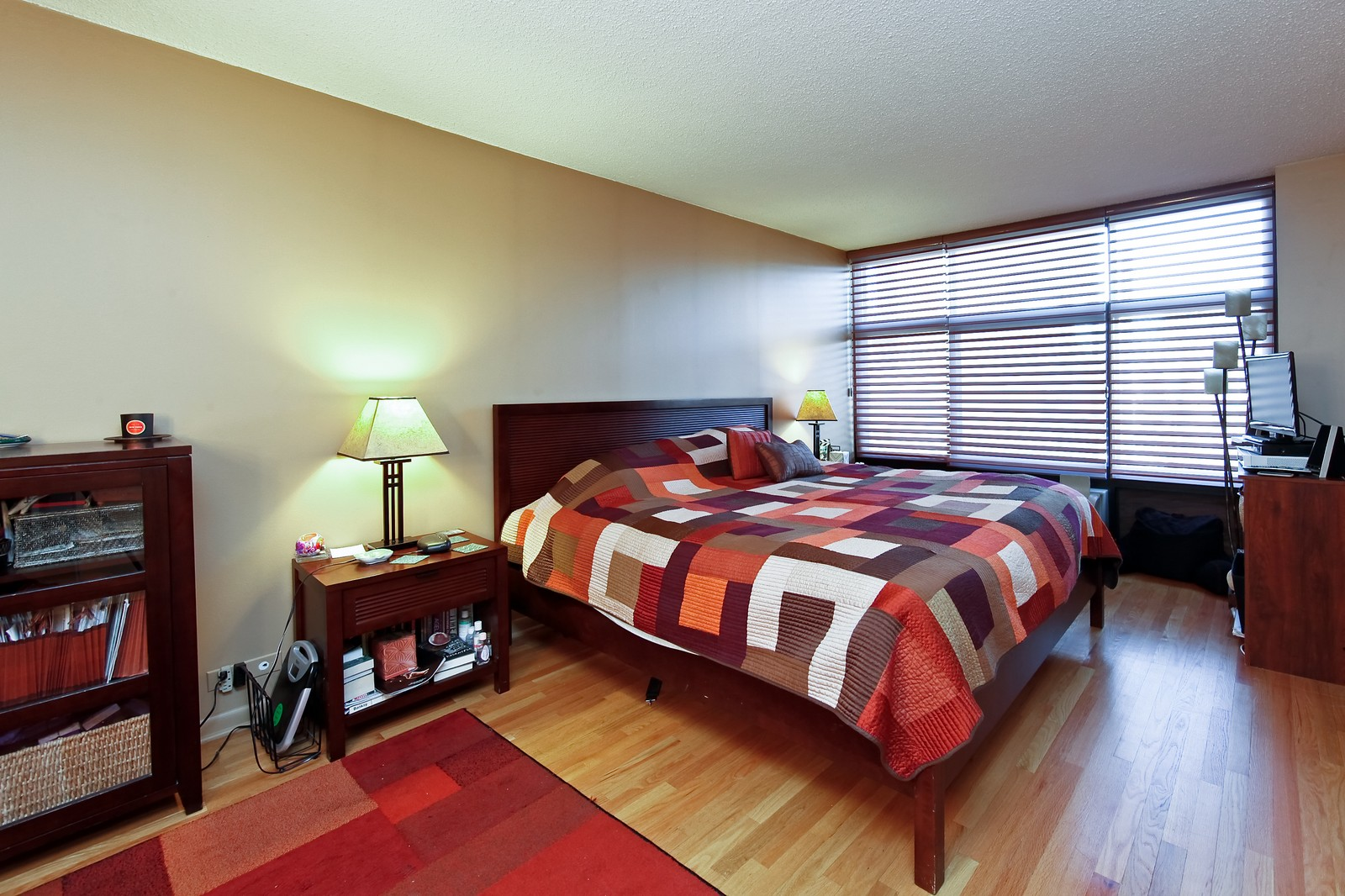Real Estate Photography - 1920 Clark, 3A, Chicago, IL, 60614 - Master Bedroom