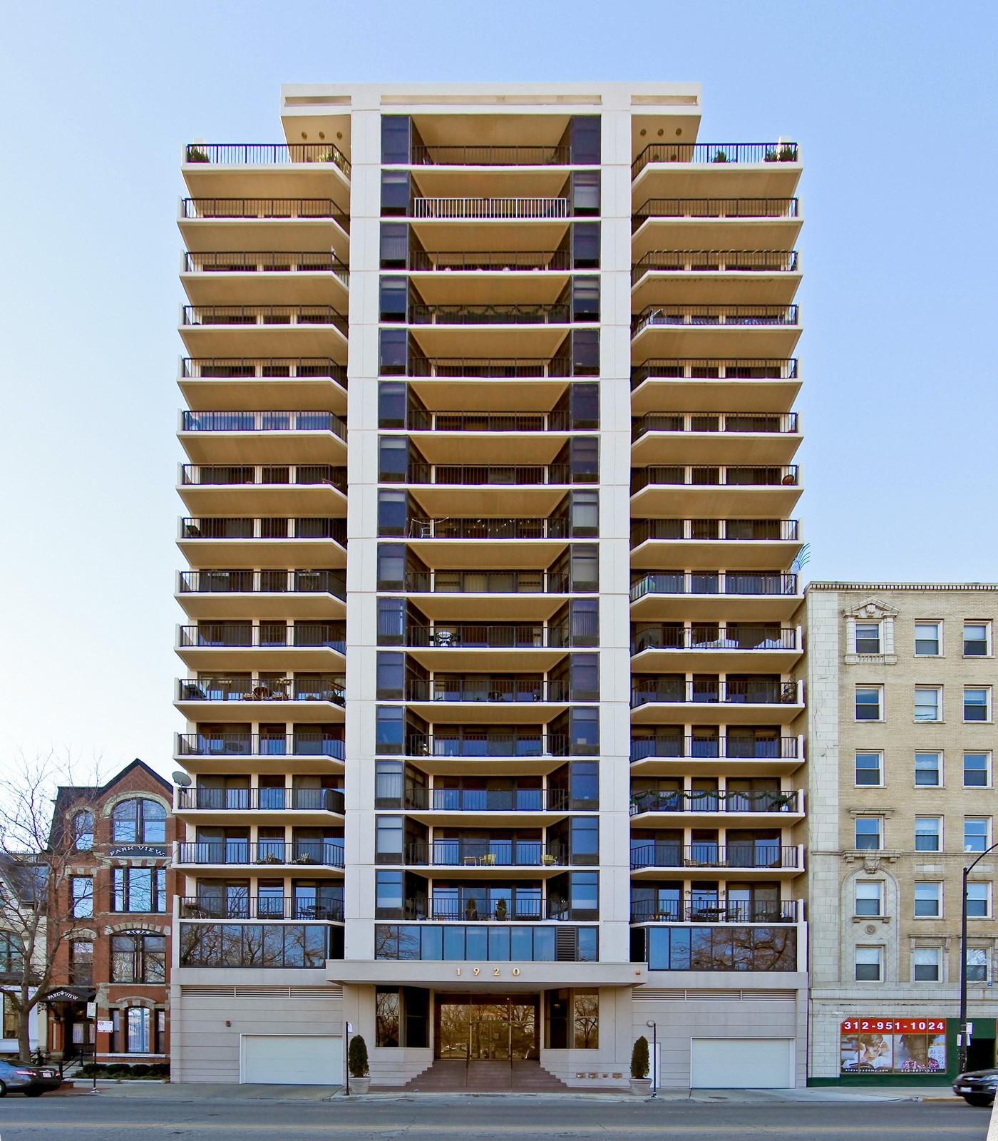 Real Estate Photography - 1920 Clark, 3A, Chicago, IL, 60614 - Front View