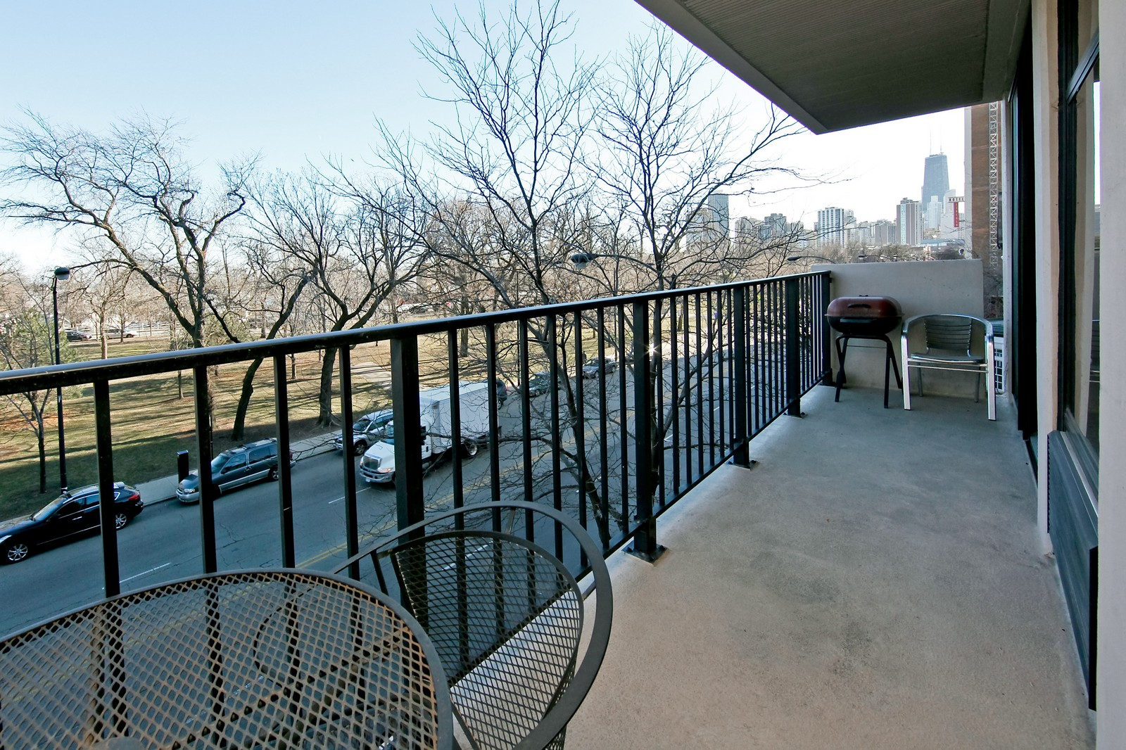Real Estate Photography - 1920 Clark, 3A, Chicago, IL, 60614 - Balcony