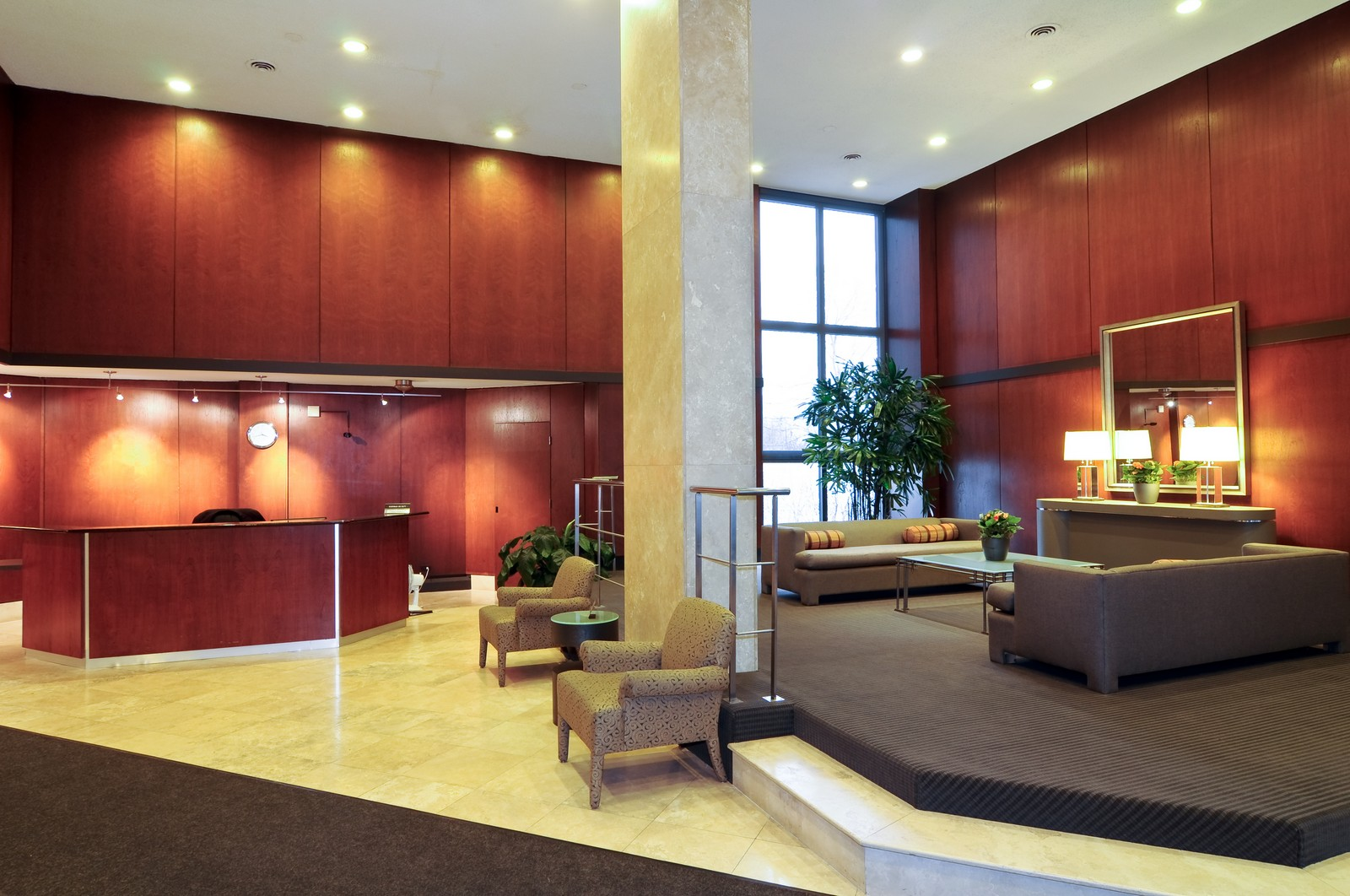 Real Estate Photography - 5100 N Marine Dr, 14J, Chicago, IL, 60640 - Lobby
