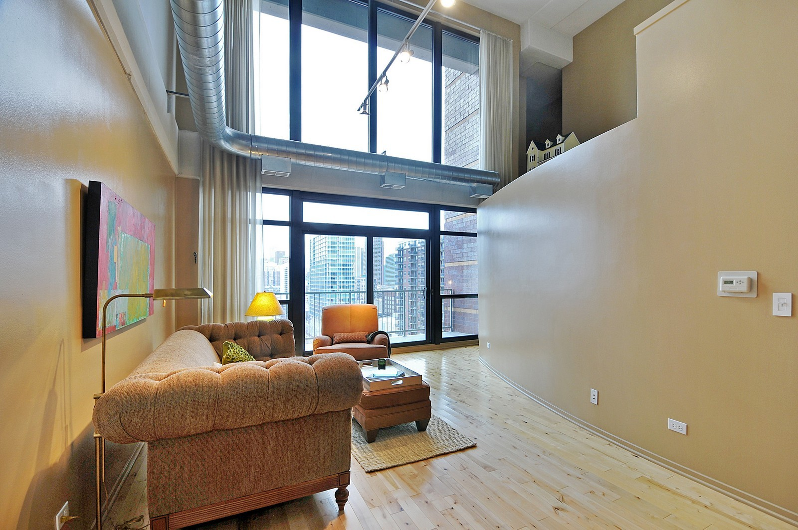 Real Estate Photography - 1530 S State, 1009, Chicago, IL, 60605 - Living Room