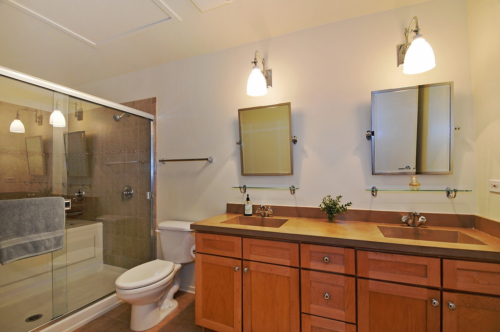 Real Estate Photography - 1530 S State, 1009, Chicago, IL, 60605 - Master Bathroom