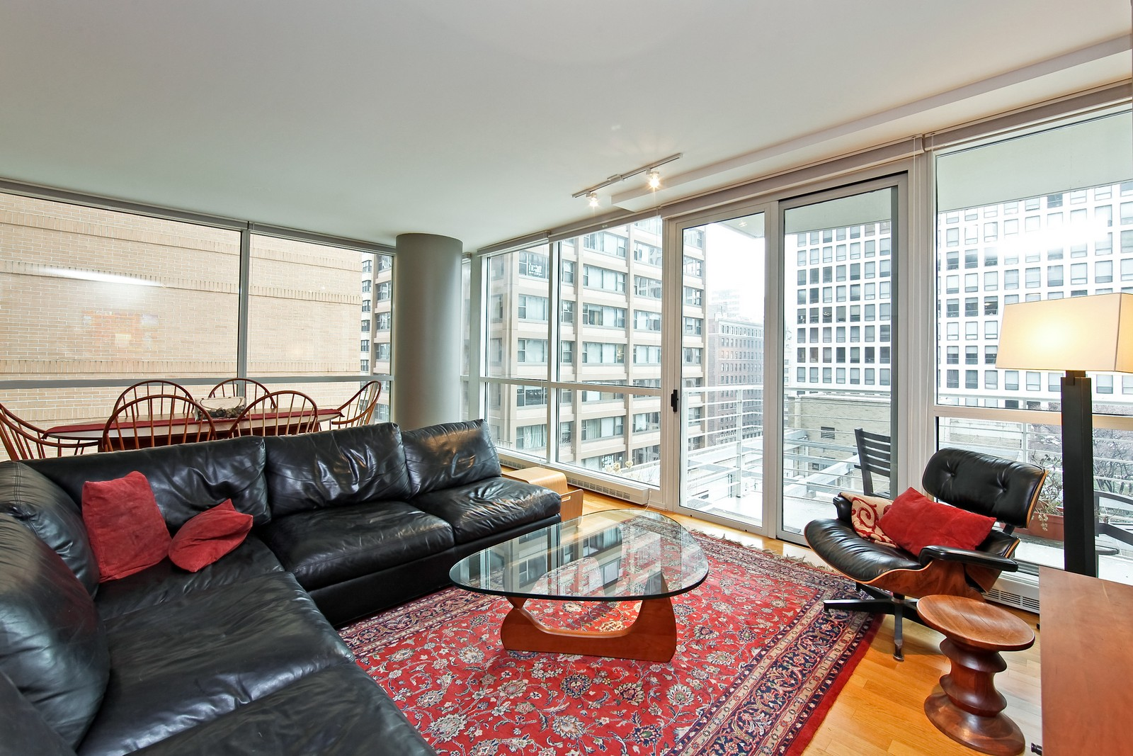 Real Estate Photography - 250 E. Pearson, 902, Chicago, IL, 60611 - Living Room