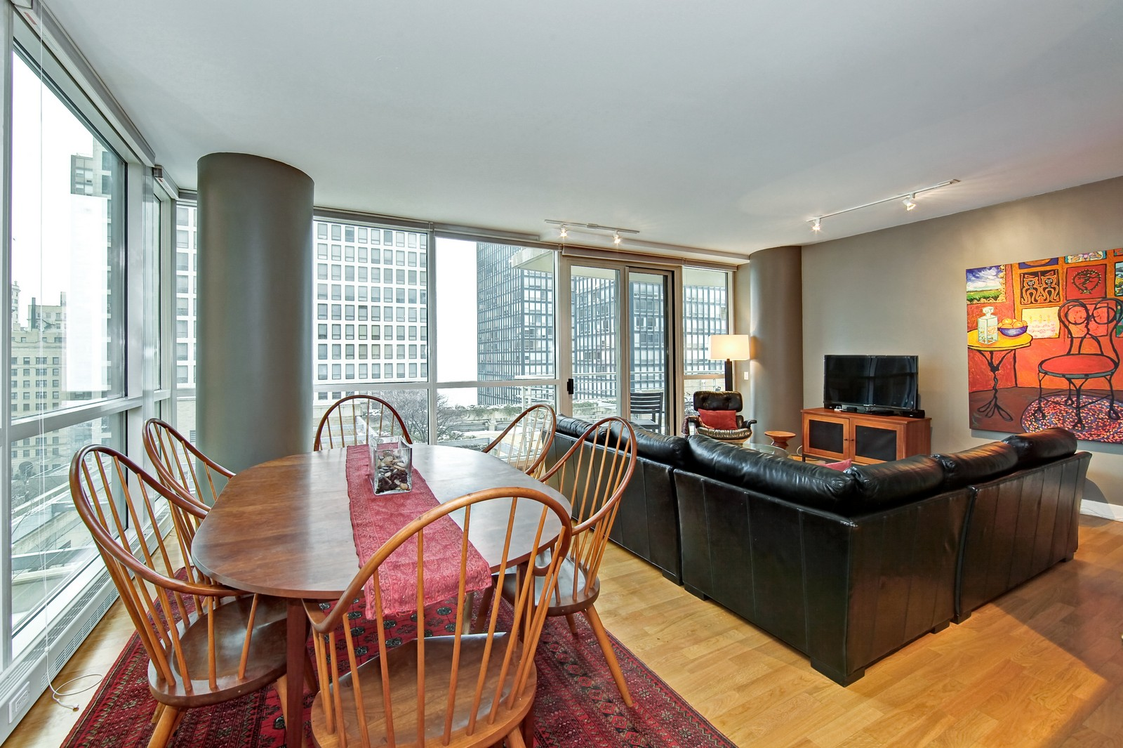 Real Estate Photography - 250 E. Pearson, 902, Chicago, IL, 60611 - Dining Room