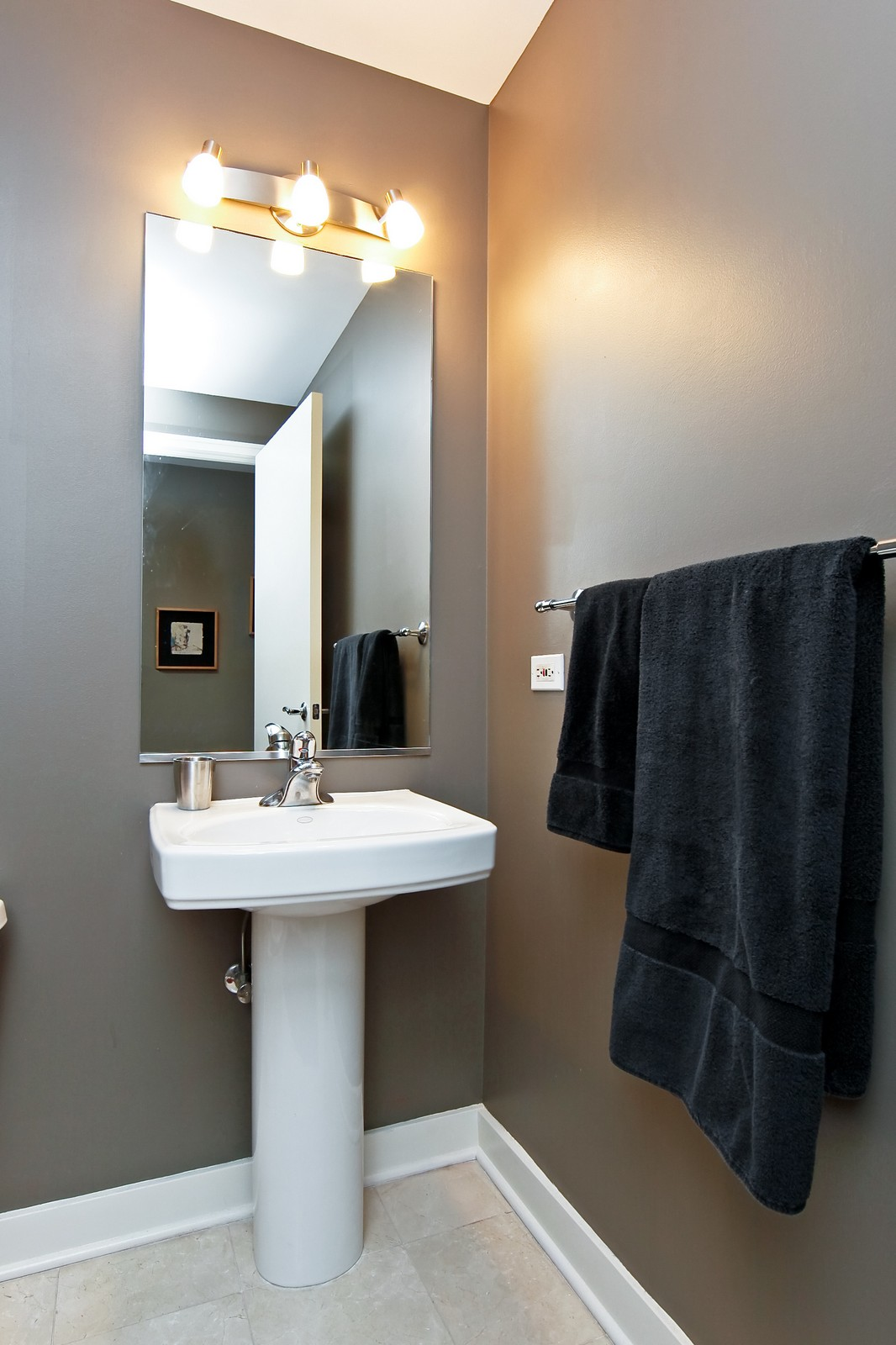Real Estate Photography - 250 E. Pearson, 902, Chicago, IL, 60611 - Half Bath