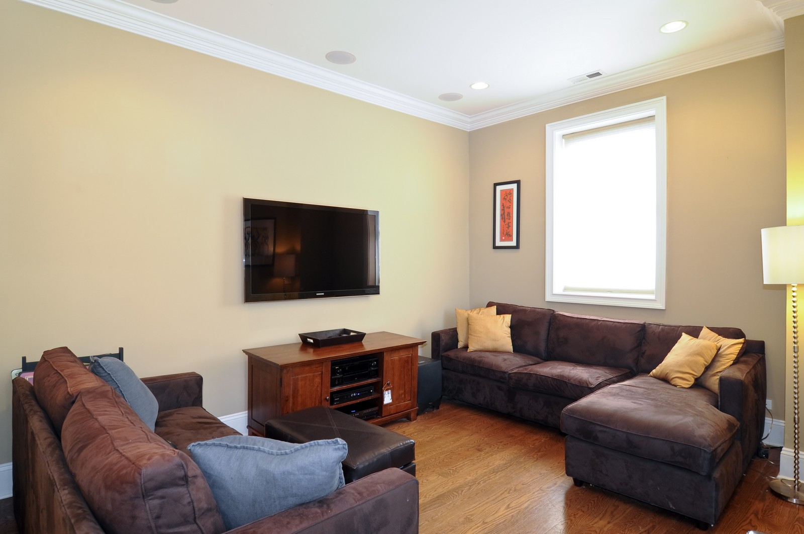 Real Estate Photography - 648 W. Wellington St., 4, Chicago, IL, 60657 - Living Room