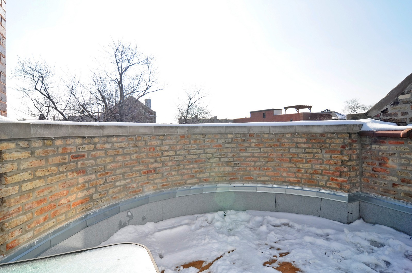 Real Estate Photography - 648 W. Wellington St., 4, Chicago, IL, 60657 - Roof Deck